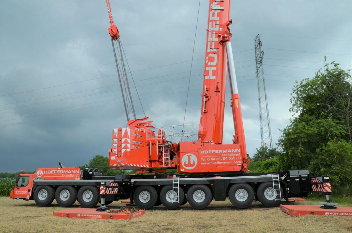 Mobilkran LTM 1650-8.1 - 8Achser in 700-Tonnenklasse - Hüffermann