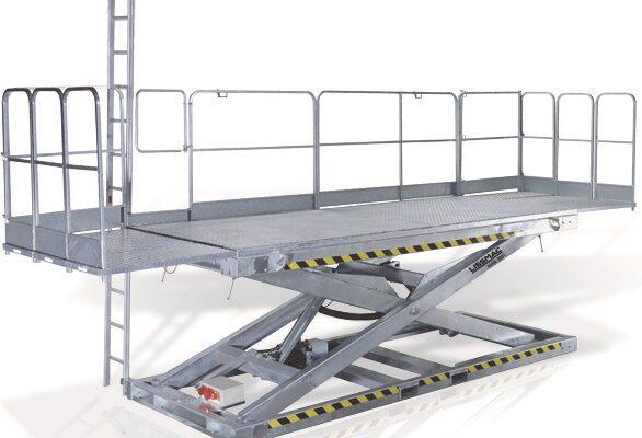 Maurerarbeitsbühne mieten - Baugeräte - Hüffermann - MAB 3001 von Lissmac