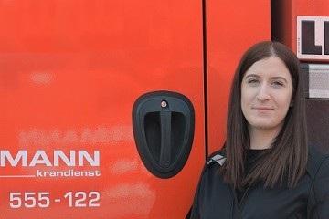 Ansprechpartner Hüffermann Turmdrehkrane Sara Sommer
