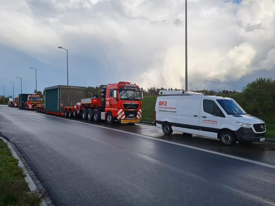 Transportbegleitung bei Spedition + Transporten - Hüffermann Transportlogistik
