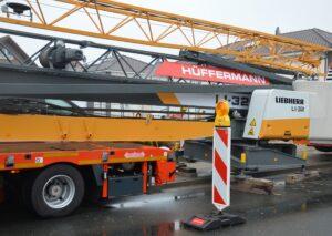 Turmdrehkran mieten - Hüffermann Krandienst und Verkehrssicherung
